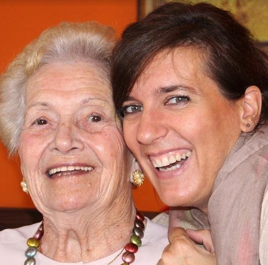 Karin & Oma Brigitte