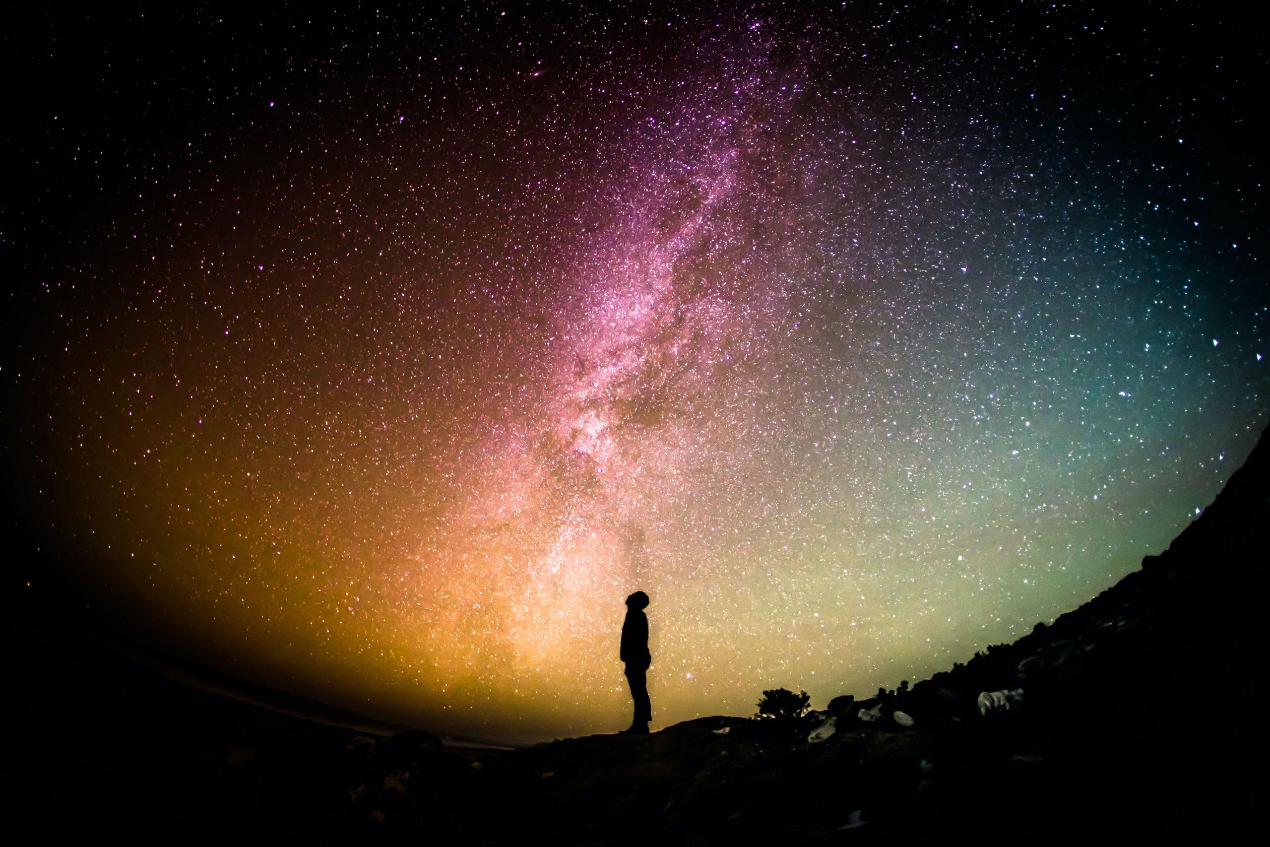 Lebenszeit im Hinblick auf das Universum