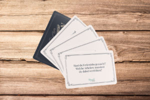The Meminto card deck – a question game for long winter and balmy summer evenings