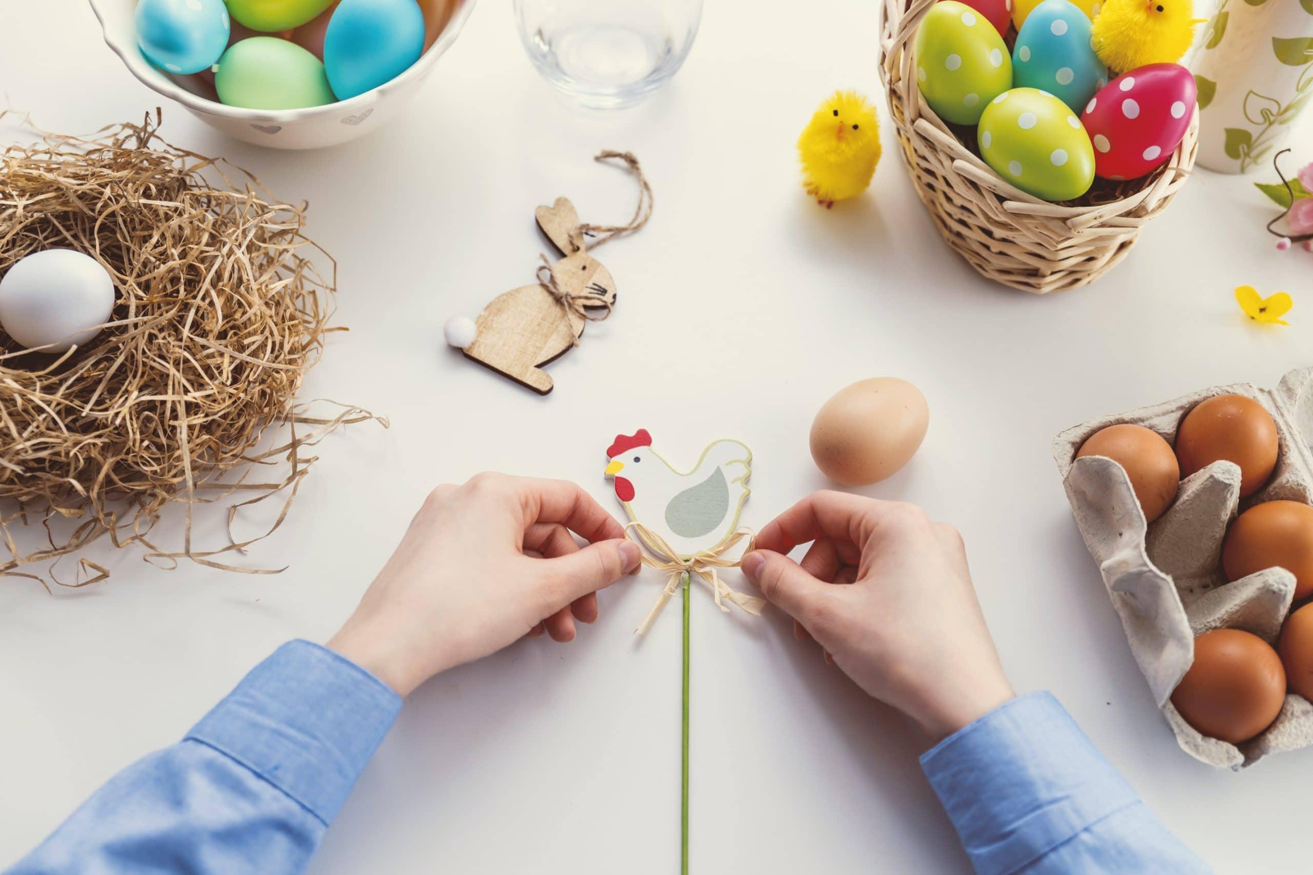 Easter gift for grandma and grandpa