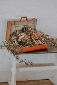 How the wedding memory box almost ended up in the bulky waste